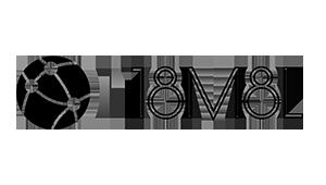 18M8L - Logo - Black and White