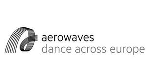 Aerowaves - Dance Across Europe - Logo - Black and White