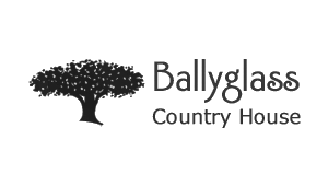 Ballyglass Country House - Logo - Black and White