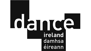 Dance Ireland - Logo - Black and White