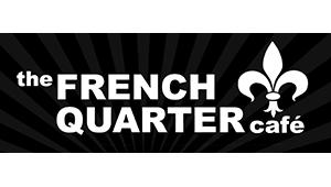 The French Quarter Cafe - Logo - Black and White