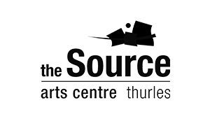 The Source Arts Centre Thurles - Logo - Black and White