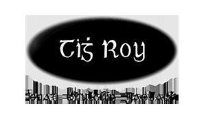 Tigh Roy - Logo - Black and White