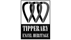 Tipperary Excel Heritage Centre - Logo - Black and White